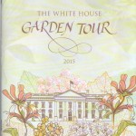 The brochure from a fantastic day at the White House!