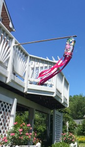 Windsocks and garden flags are colorful and cute, and they have a hidden benefit!!!