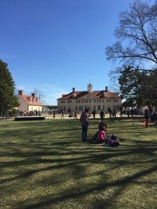 On an exceptional day last week, we took a field trip to Mt. Vernon Estate, just down the street. More on that next time!
