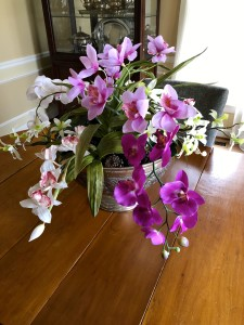 Here's my finished orchid garden- hope you'll give this a try!
